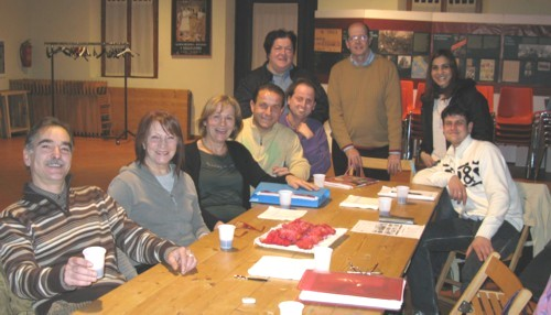 english class - evening group