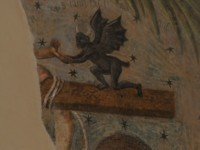 fresco pergola