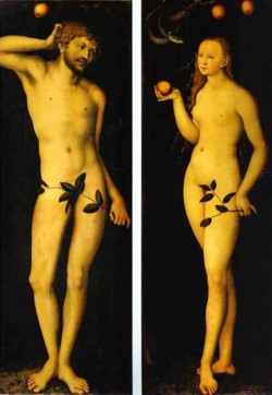 cranach's adam and eve