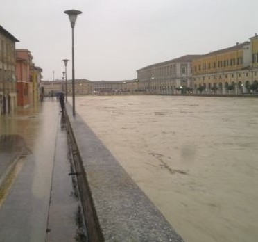 river at senigallia