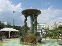 fountain in cattolica