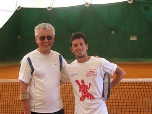 tennis coach Massimiliano