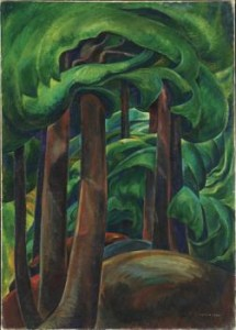 Emily Carr painting