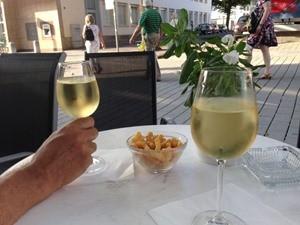 Riesling wine in Trier
